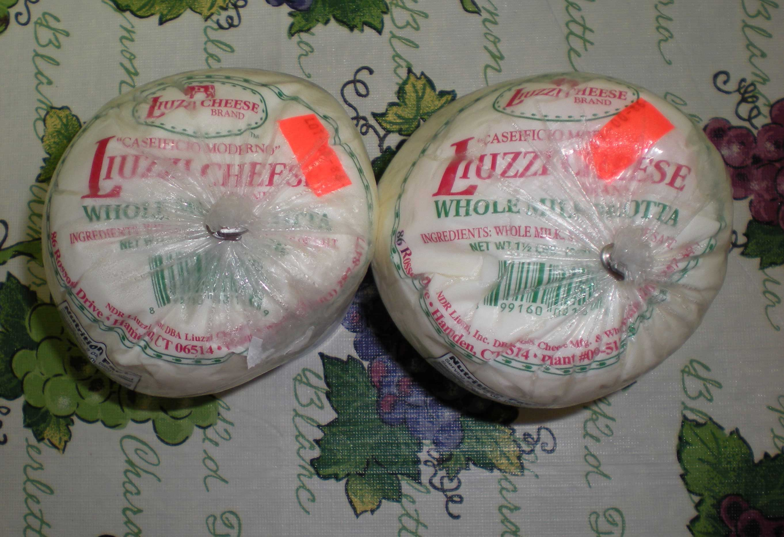 Liuzzi Cheese Ricotta