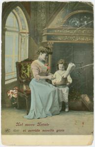 Buon Natale Postcard 1908