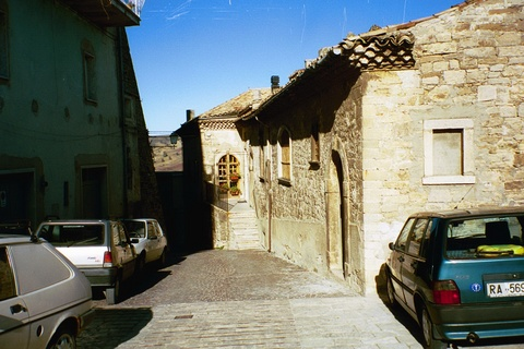 Streets of Celenza Valfortore